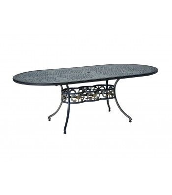 "42"" x 84"" Oval Umbrella Table"