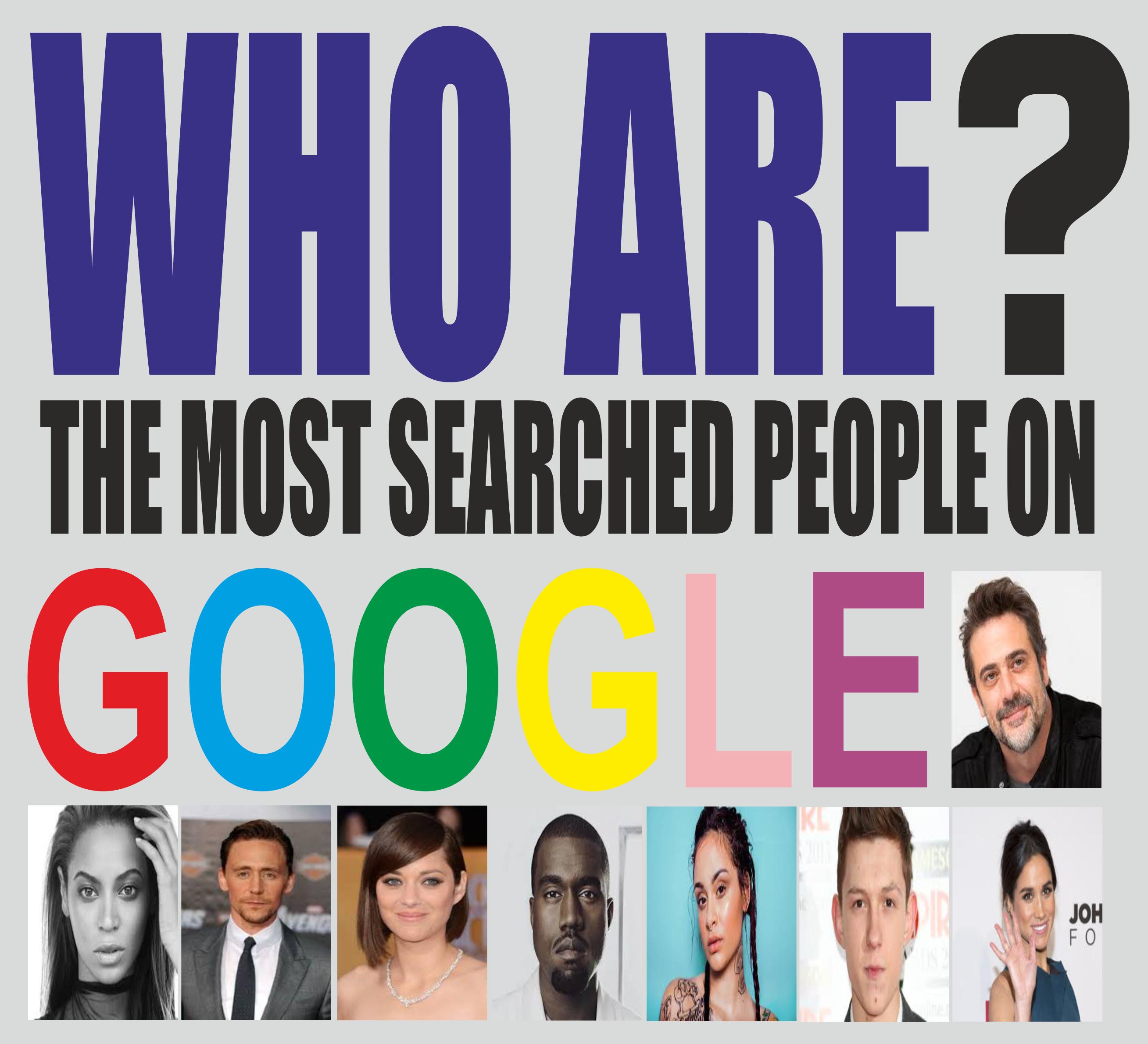 GGOGLE MOST SEARCHED CELEBRITIES 2016 http//freepubquiz