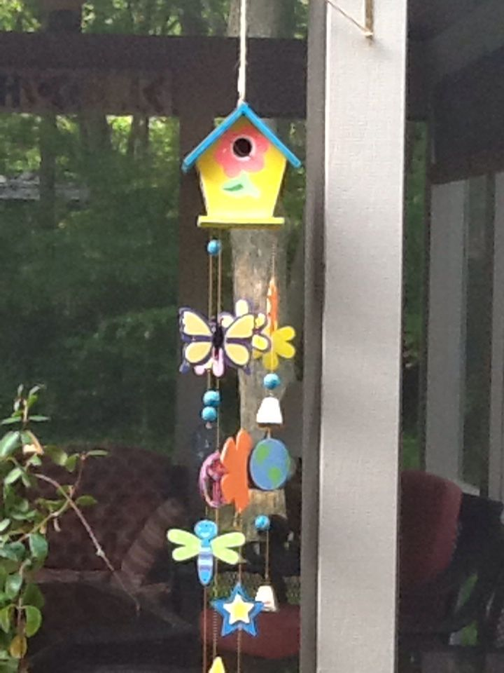 I had birds in this house the first year.