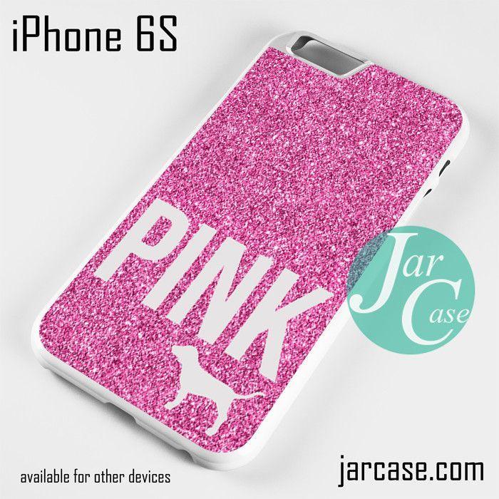 online retailer d7259 1389c Pink Glitter Victoria's Secret Phone case for iPhone 6/6S/6 Plus/6S ...