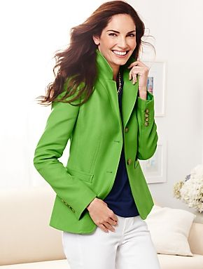 Talbots - Cavalry Twill Jacket | | Misses