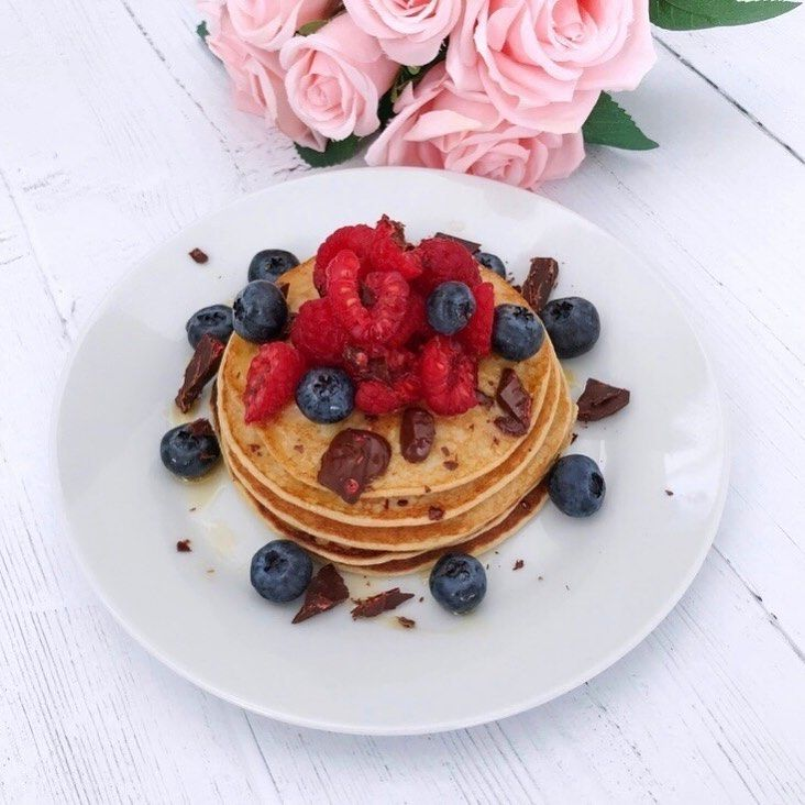 Oat Pancakes @leahgracefitness made these pancakes using protein powder as suggested by you