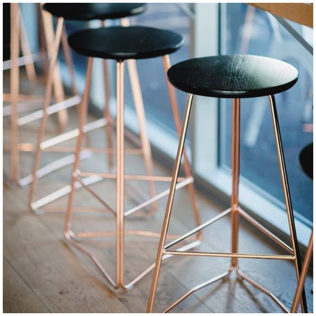 6 Metallics That Look Stunning In Your Kitchen Designer Bar Stools Copper Bar Stools Black Bar Stools