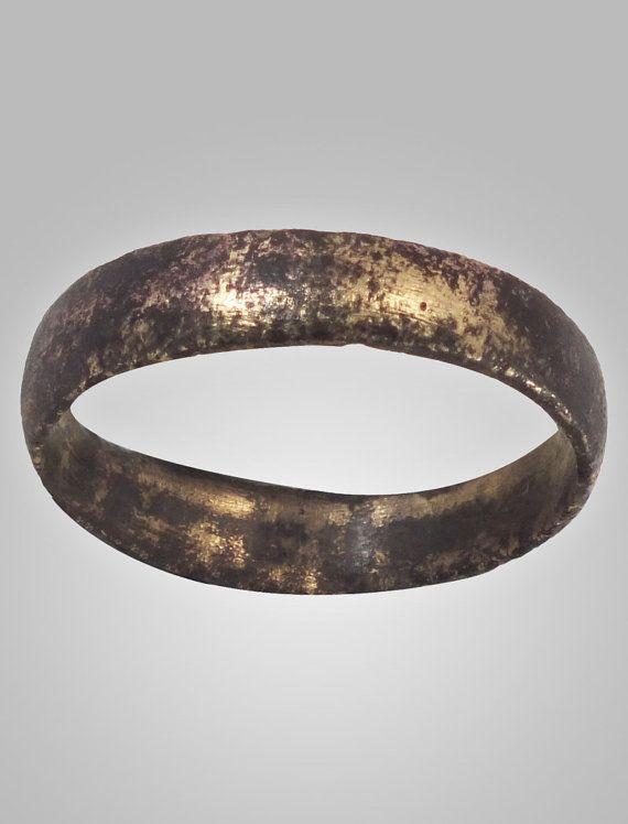 Ancient Viking Mens Wedding Ring Band York UK 8661067AD