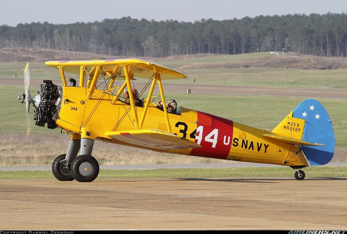 Stearman PT-13/17/18/N2S Kaydet (75) aircraft picture