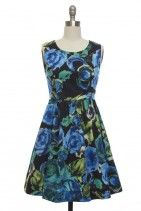 Bold Blooms Dress  I feel like Lucy when I picture myself in this!