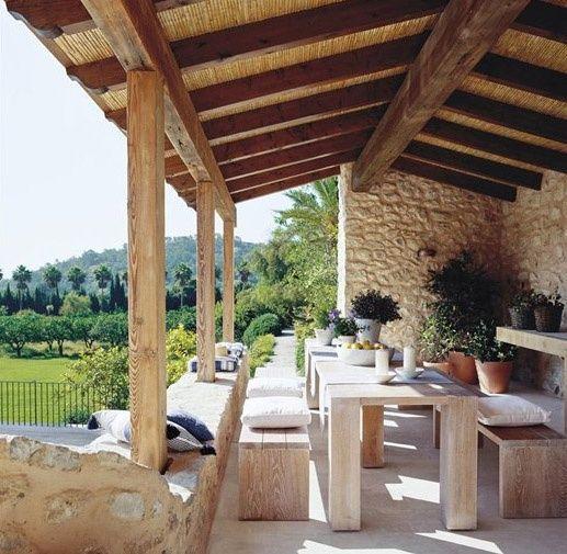 Decoracion casas rusticas buscar con google jardi for Decoracion casas rusticas