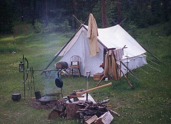 Great Cowboy Camp Site! Perfect for making a great meal on the ...