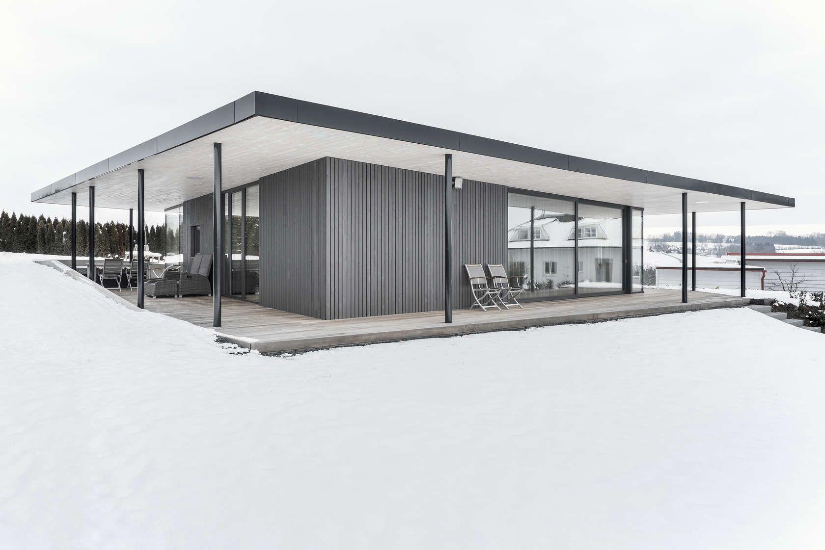 Was Machen Architekten garden house auszugshaus im garten by bogenfeld architektur