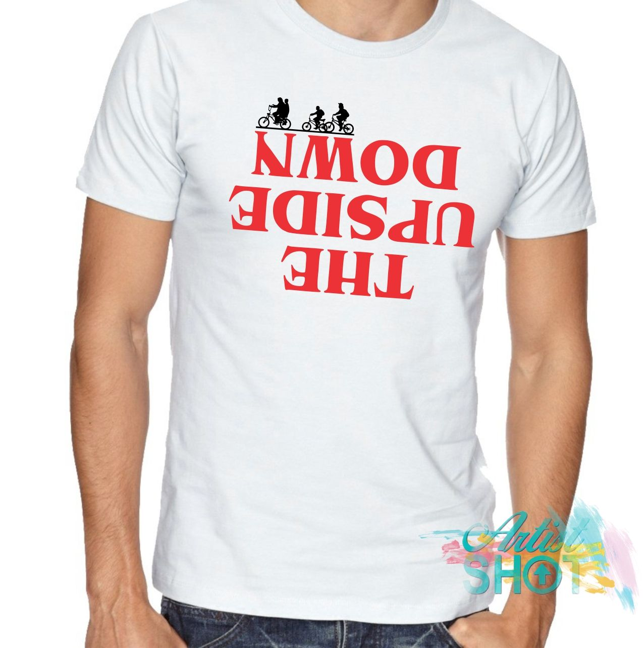 97003be1a The Upside Down 2 T-shirt By Sbm052017 | Artistshot