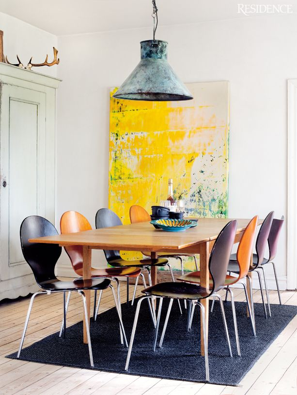 renovated vicarage in the south of Sweden home spirit Pinterest