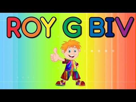 roy g biv the colors of the rainbow jack hartmann youtube