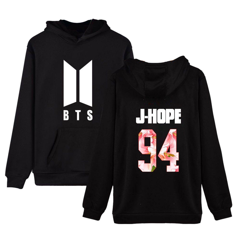 babyhealthy Kpop BTS Love Youfself New Logo T-Shirt Jimin V Jung Kook Suga Crew Neck Tee Shirt Tops
