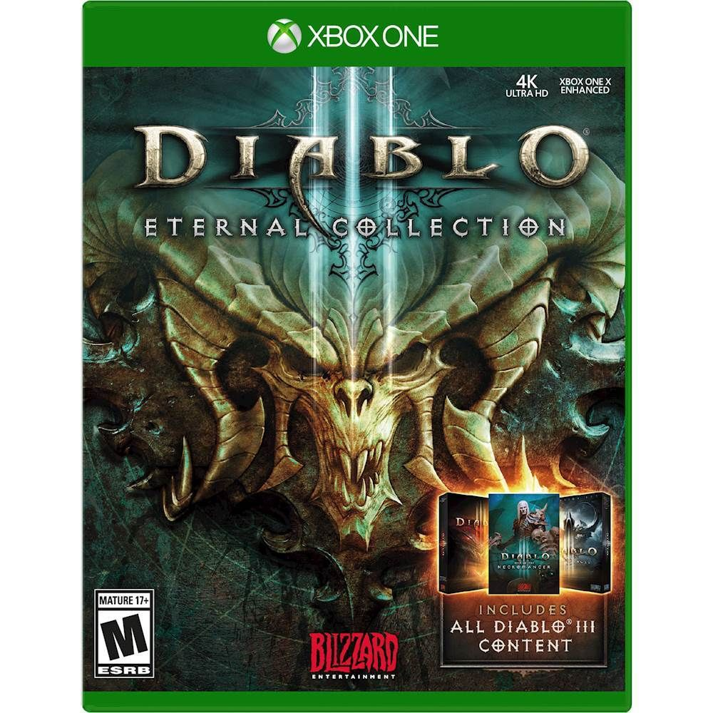 Diablo Iii Eternal Collection Xbox One Ps4 Games Playstation