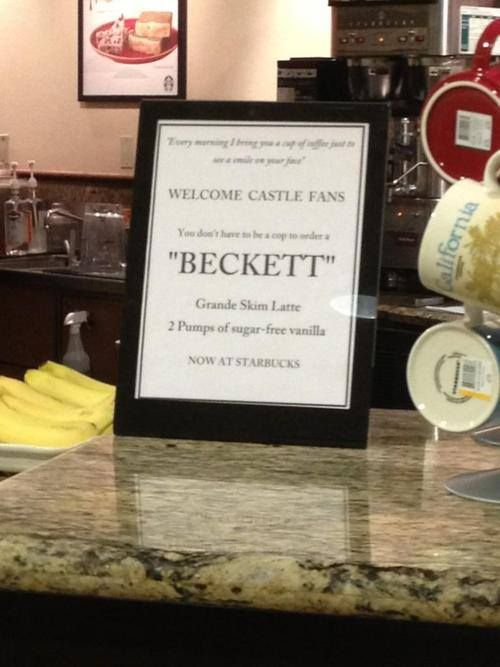Beckett Has Now Her Coffee At Starbucks With Images Richard