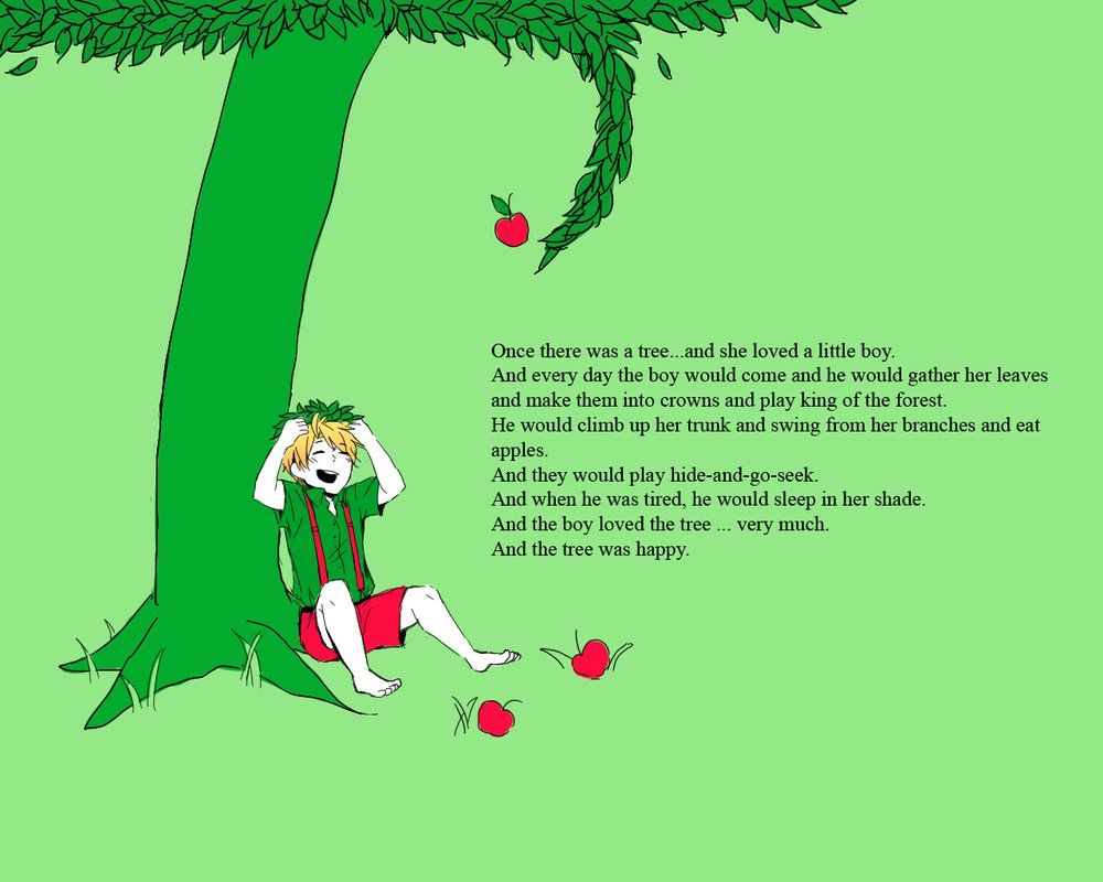 The Giving Tree this book makes me cry | Books | Pinterest ...