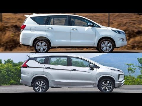 2018 Toyota Innova Crysta Vs 2018 Mitsubishi Xpander Youtube