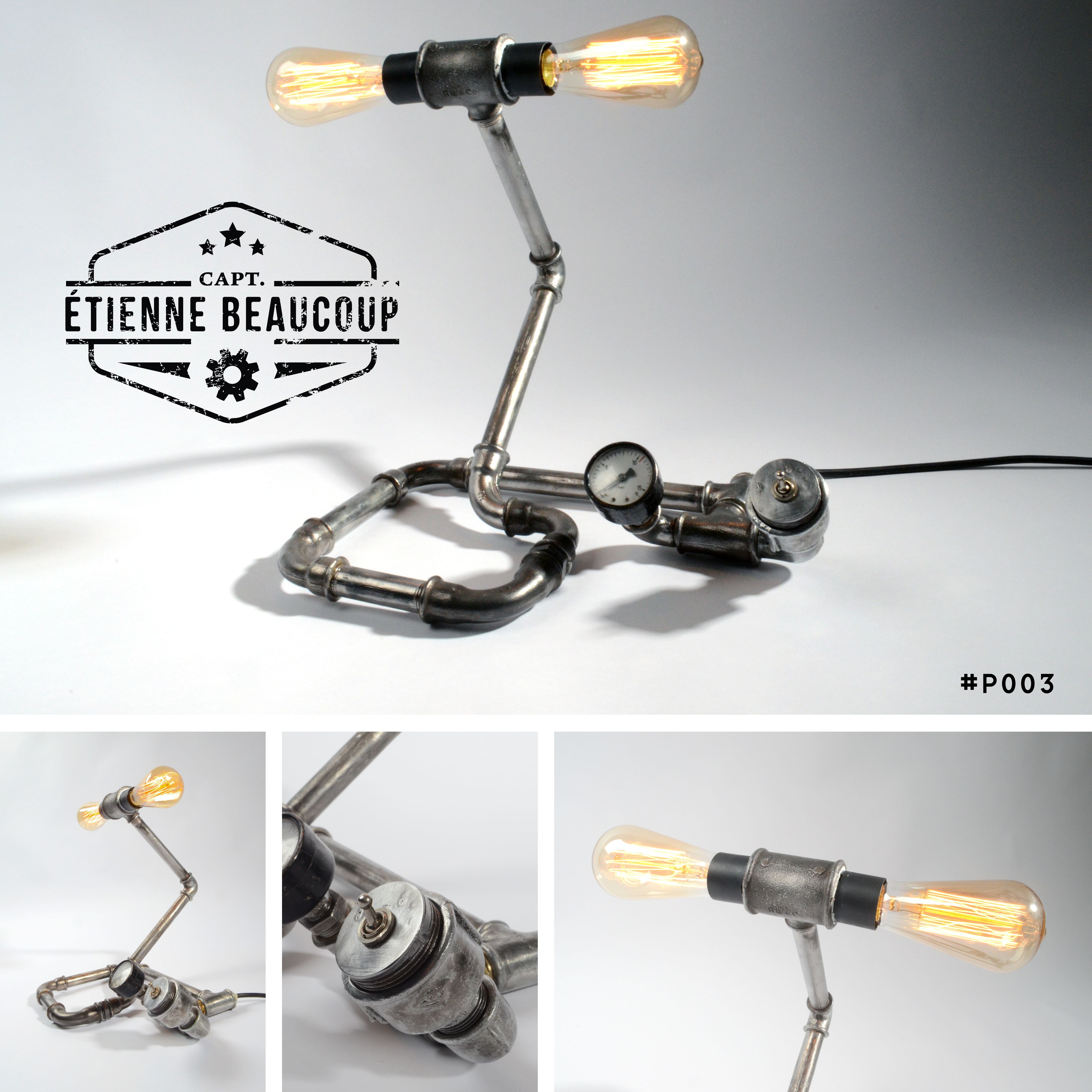 Pin On Lampe Tuyaux