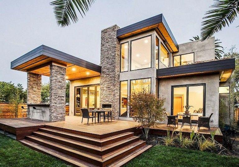 96 Amazing Latest Modern House Designs Architecture Homedecorideas Homedecorating Homed Modern Exterior House Designs Cool House Designs Architecture House