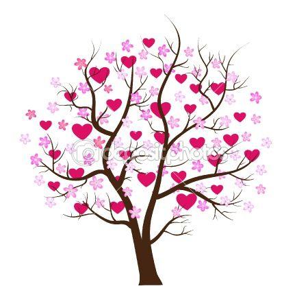 Heart Tree Valentines Con Immagini Disegni Di Albero Arte