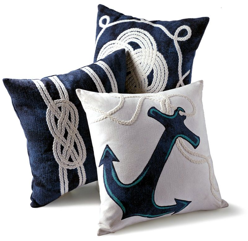 Inspired Living™ By FRONTGATE · Yacht PartyNautical PillowsCushion ...