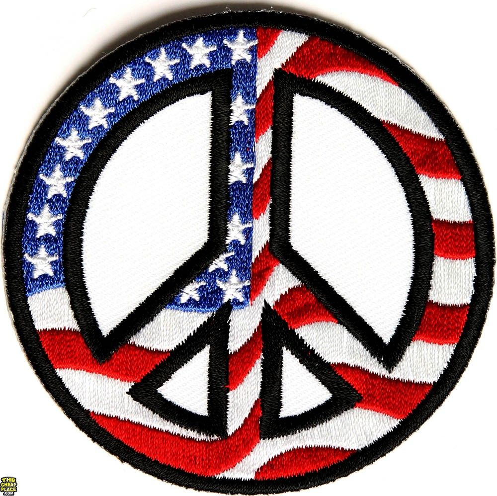 Peace us flag patch cool embroidered patches cool patches peace sign american flag hippie retro peace love weed pot iron on patch new biocorpaavc