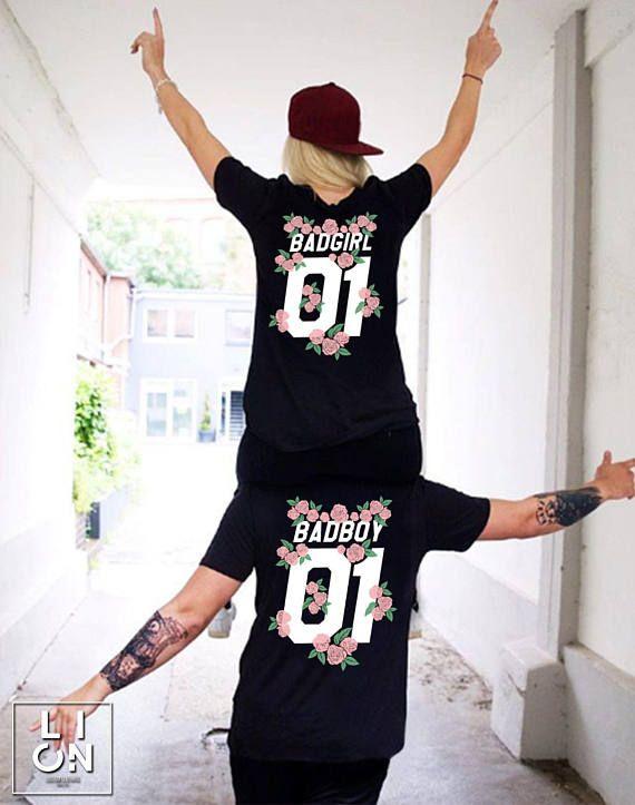 6c1a0e149 Badboy Badgirl Shirts Badboy Badgirl T-shirts Couple shirts   goals ...