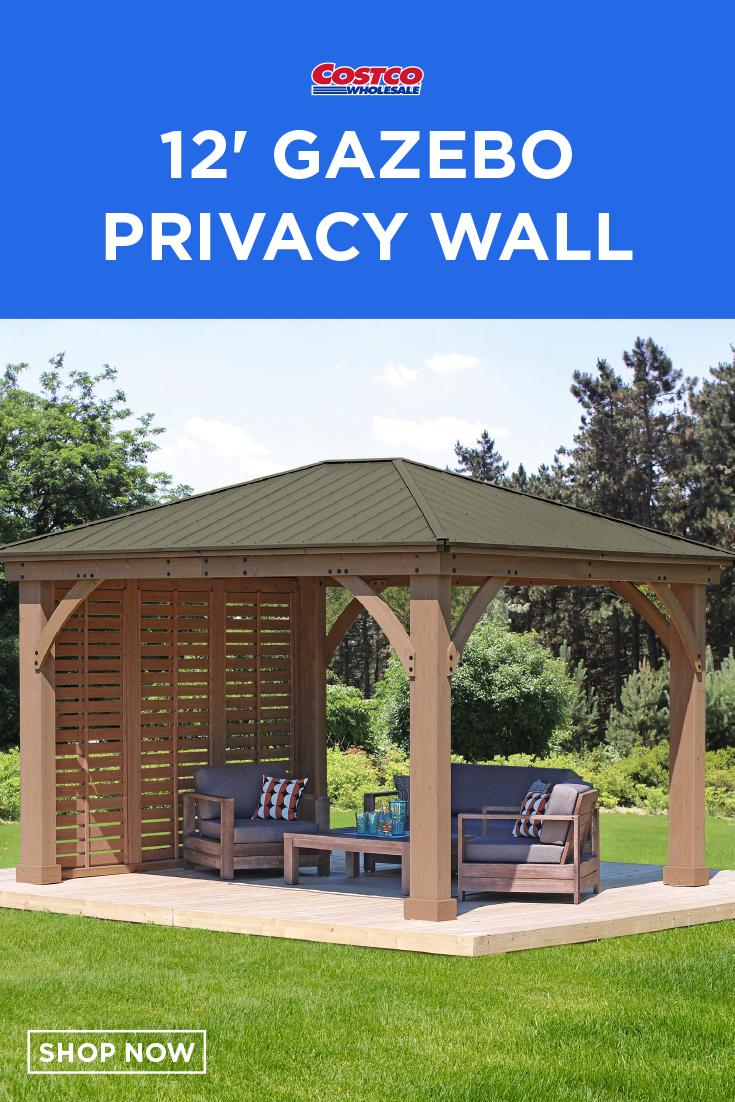 12 Gazebo Privacy Wall Gazebo Privacy Walls Gazebo Privacy
