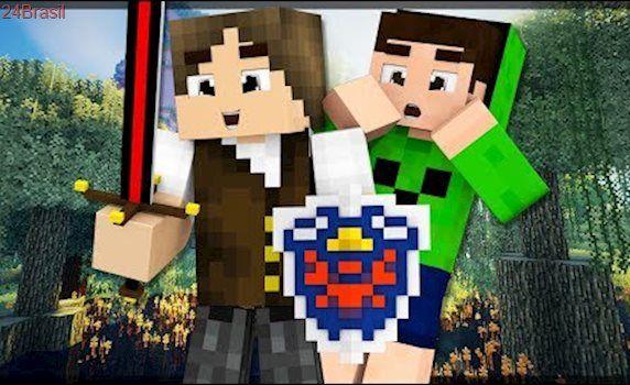 Minecraft Épico #36: COMPLETEI A PRIMEIRA PARTE DA BIG BERTHA!