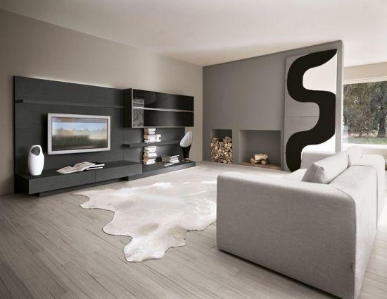 wohnzimmer weiss/grau   Hausbau   Pinterest   Grau, Wohnzimmer und ...