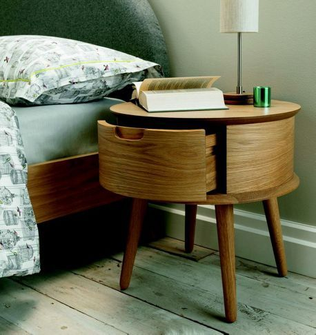 Linea Hoxton 1 drawer bedside chest - House of Fraser