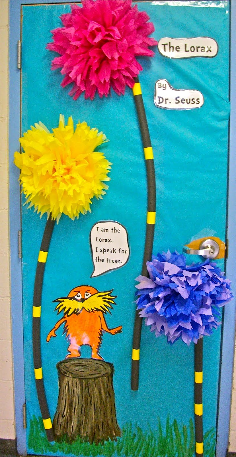 Dr. Seuss Classroom Ideas - Bing Images Display idea for environmental investigation.