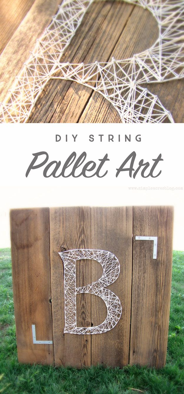40 Insanely Creative String Art Projects Wall Art Ideas