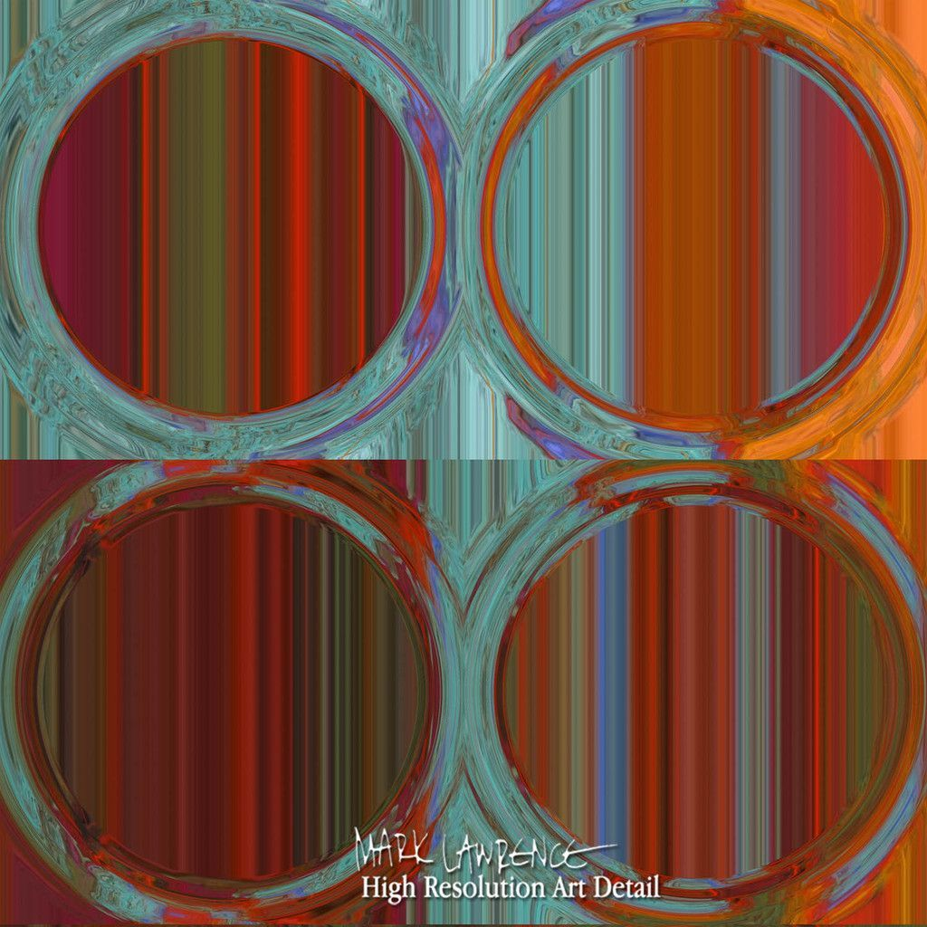 Abstract Art Circles And Squares 35 Modern Fine Art