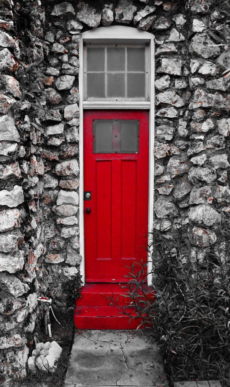 church down the road from my house on Columbus Ave in T&a Heights West T&a & Red Door Canvas Print / Canvas Art by Kraco Photography | Tampa ...