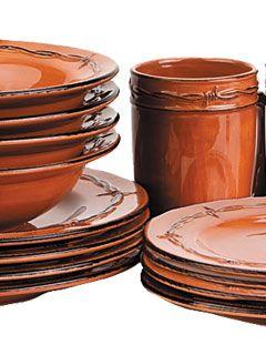 Dinnerware Rustic Dinnerware Dinner Plate Sets Dinnerware