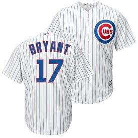 cheap for discount 2d378 0521f Get this Chicago Cubs Kris Bryant Home Cool Base Replica ...