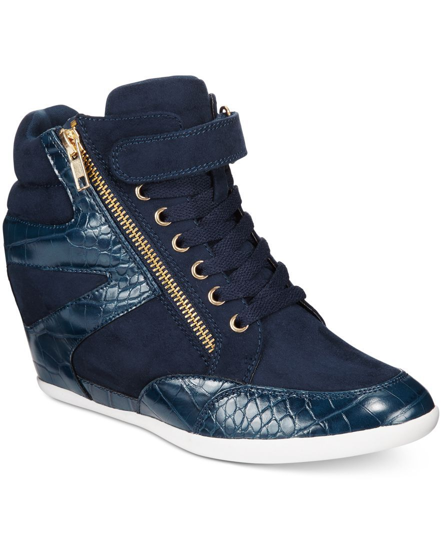 official photos 92a3f 8c1f4 Thalia Sodi Azar High-Top Wedge Sneakers, Only at Macys