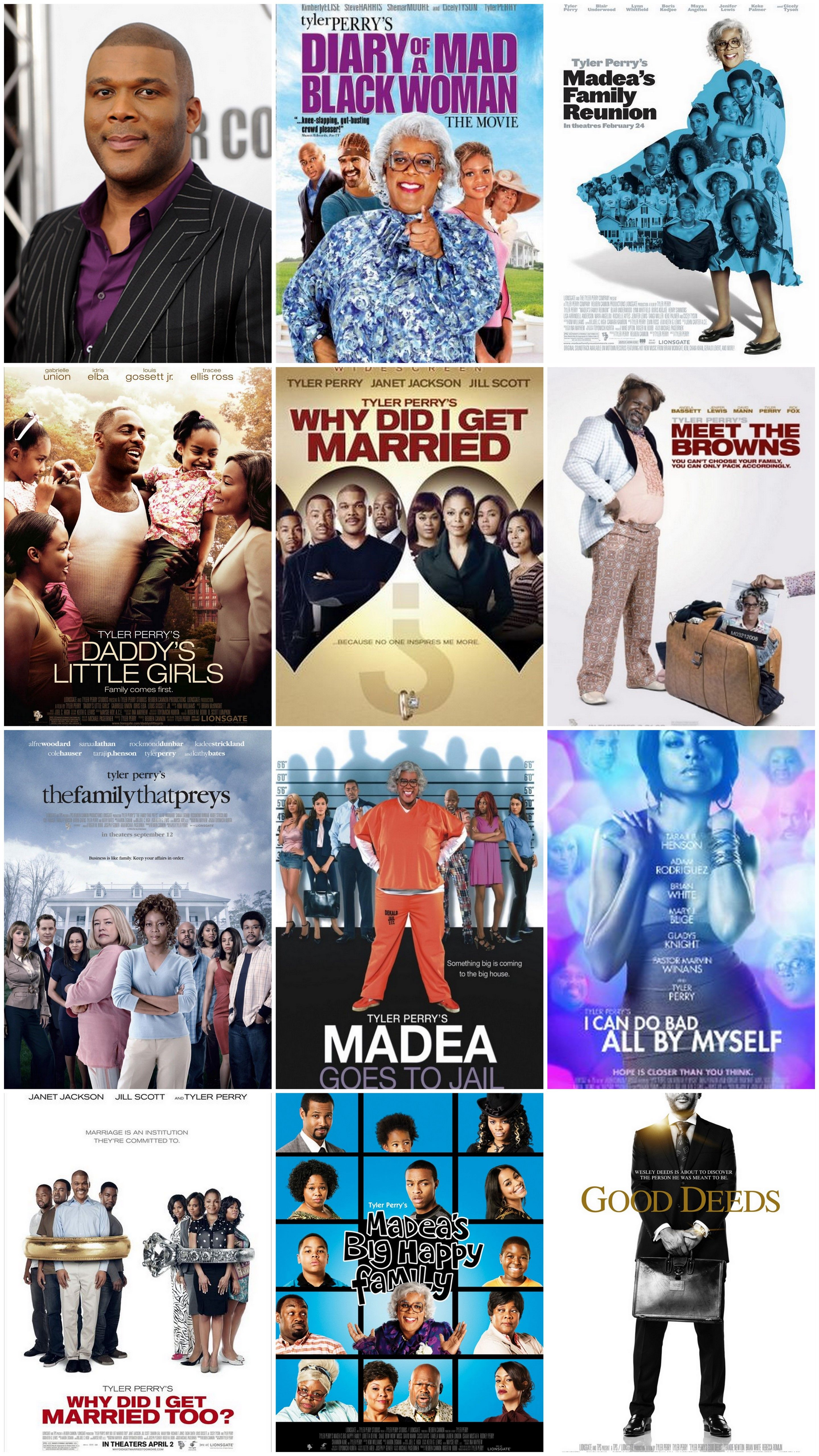 Movies produced by Tyler Perry always have an amazing message! | Excellent  movies, Comedy movies, Tyler perry