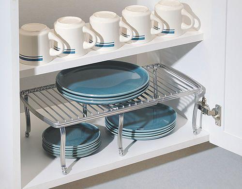 Extendable Kitchen Cupboard ShelfKitchen StoragePinterest