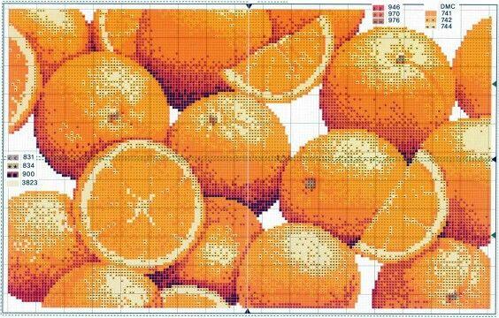 Mantel naranjas