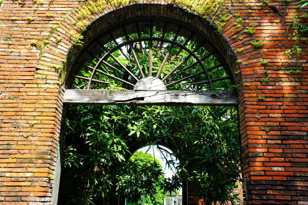 A doorway at Fort Santiago