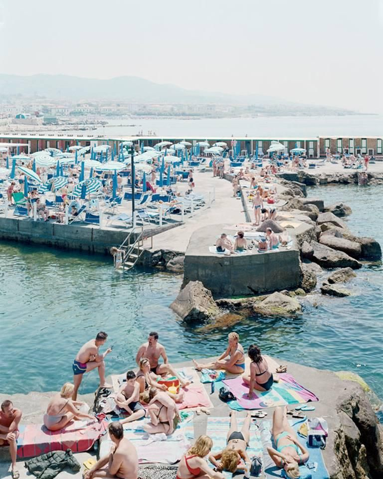Massimo Vitali Bagni Lido Vertical Landscape Best Vacation