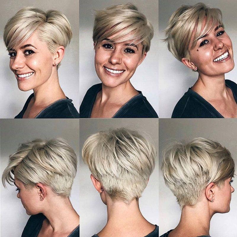 Schone Haarmodelle Fur Frauen 2020 Kurze Haare 2020 Kurzhaarschnitte Kurze Blonde Haare Bob Frisur