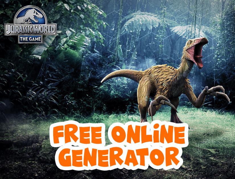 Free Online Generator #gamehack #freehack | Jurassic world