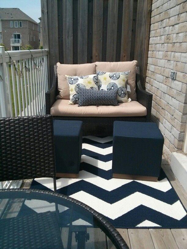 small balcony decor furniture design