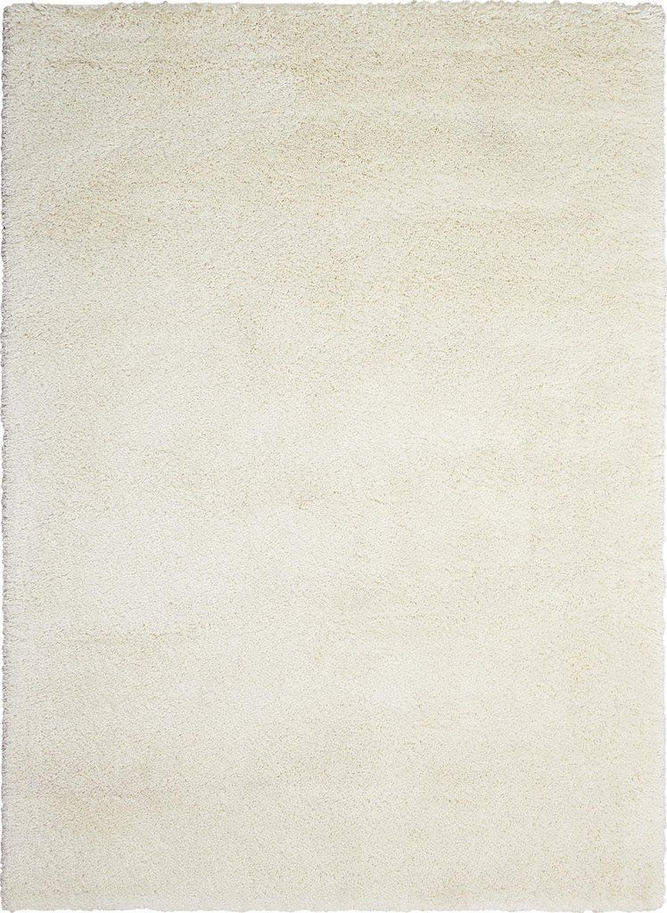 Yummy Shag Rug In White Kathy Ireland Home By Nourison
