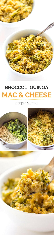 5ingredient Broccoli + Quinoa Mac And Cheese