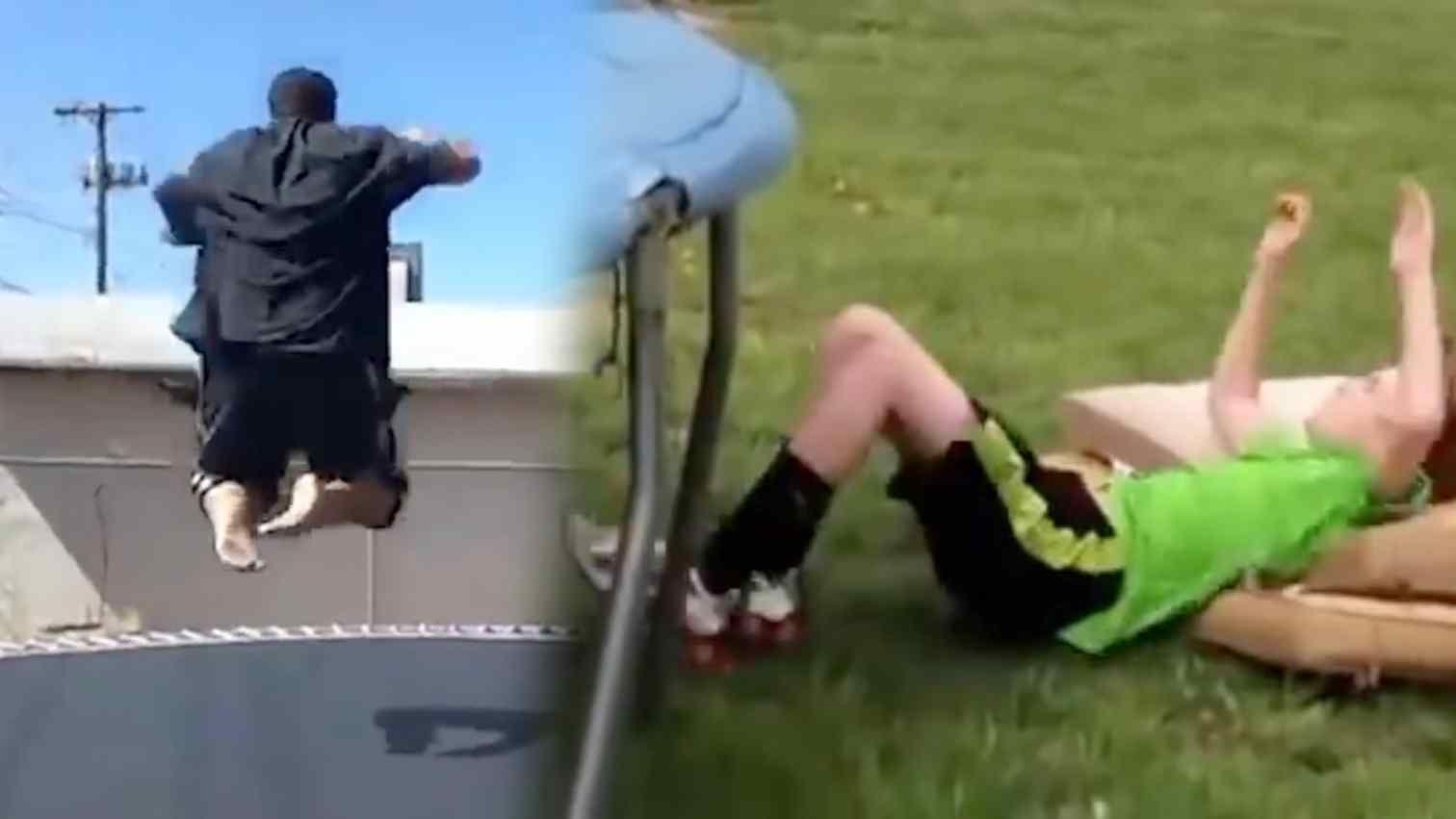 Vor Allem Kleine Kinder Sind Gefahrdet Wann Wird Trampolin Springen Wirklich Gefahrlich In 2020 Trampolin Trampoline Kleinkind