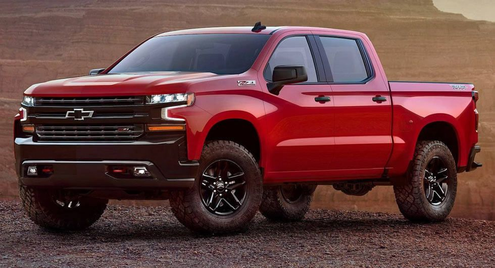 2019 chevrolet silverado unveiled ahead of detroit debut cars rh pinterest com
